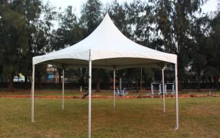 Hexagon Gazebo Cross Cable Tent