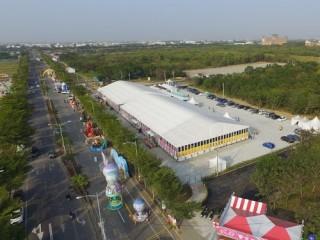 翼板帳篷-2017_雲林台灣燈會-指揮中心