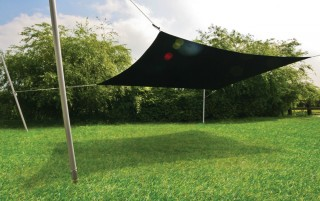 Pentagon Sail Shade - UV protection awning