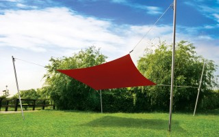 3.5M x 3.5M Square  Sail Shade