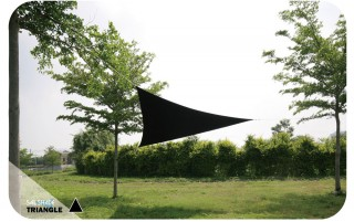 4M x 4M x 4M Triangle  Sail Shade
