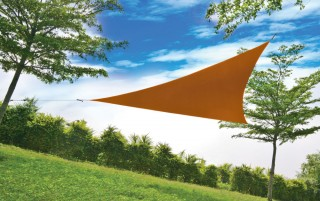 4M x 4M x 4M Triangle  Sail Shade - UV protection awning