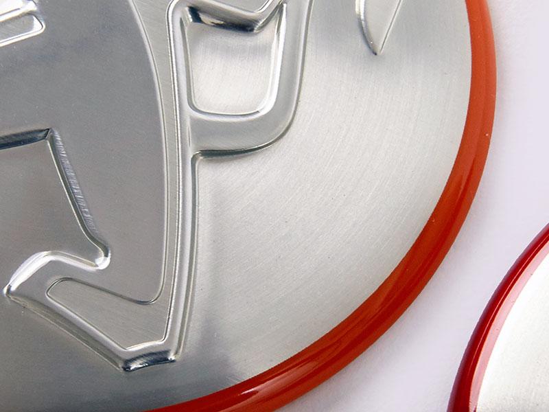 Nameplate - The various brand car nameplate.