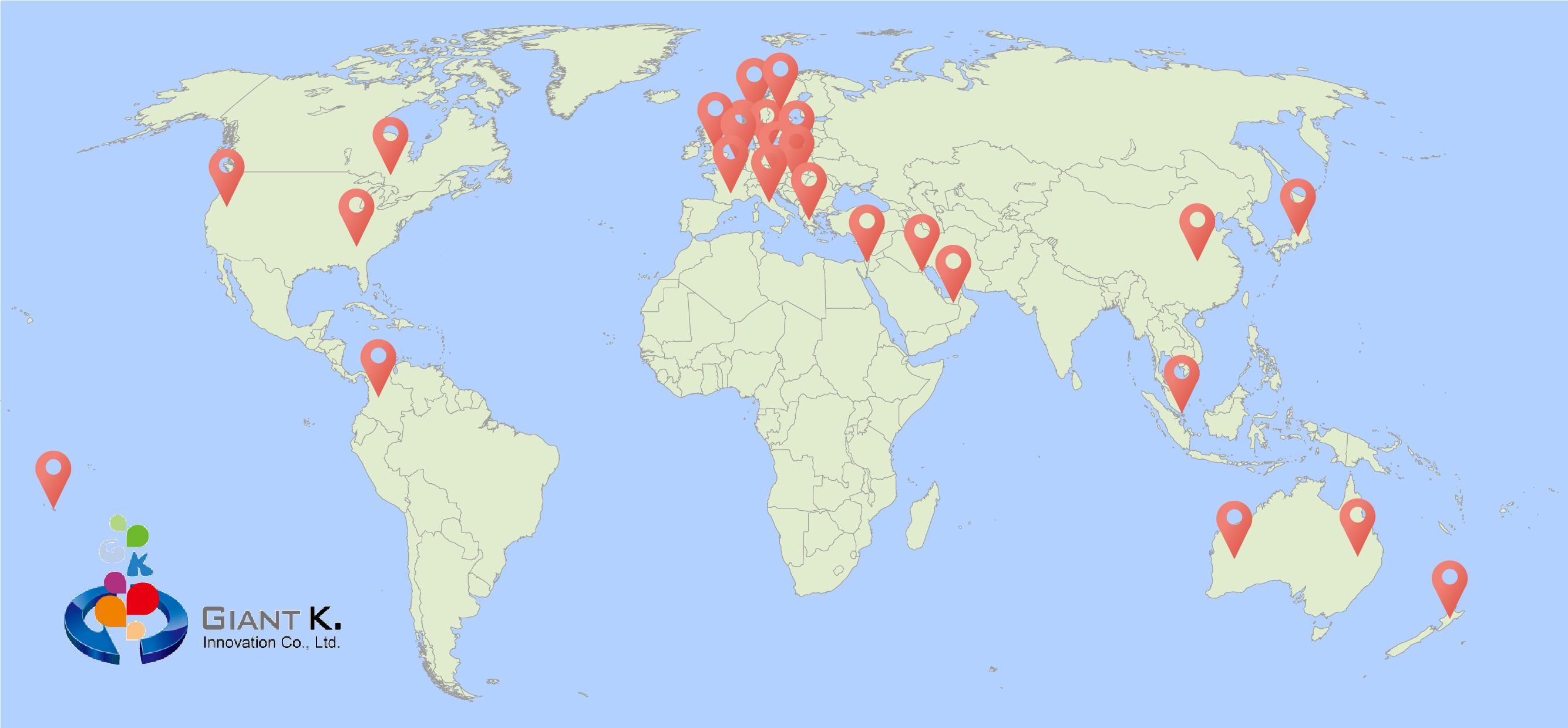 Customers Map