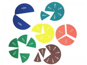 EVA Fraction Circles Magnet