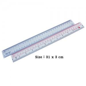 Plastic PVC 30cm Ruler