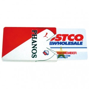 Hard Plastic Credit Card Holder