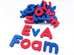EVA Magnetic letters(red, blue)