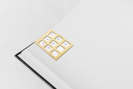 Tic Tac Toe Game Magnetic Bookmark