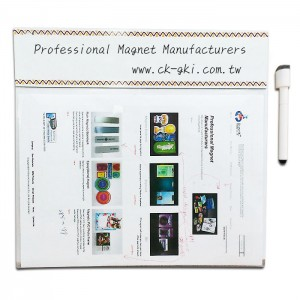 Magnetic file folder