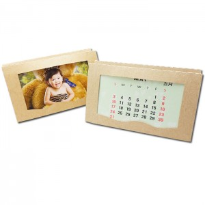 Настольный календарь с многофункциональной магнитной фоторамкой