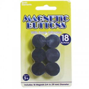Foam glue magnet pellets