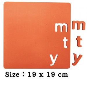 Safety EVA Magnet of 123 or abc (Self-color)
