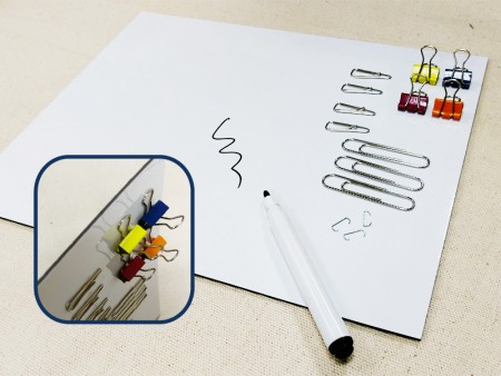 Magnetic White Board Mat