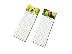 Animal magnet note paper