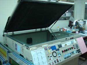 Making Lithograph Plates Machine
