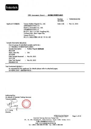 تقرير اختبار SVHS (1-1)