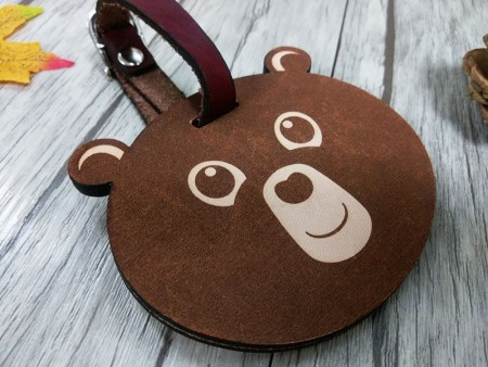 Leather Carving Tag