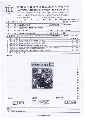 Safety Test Report (3)