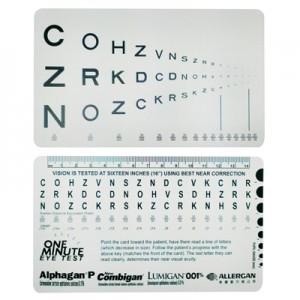 視力測試板