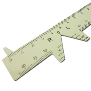Ophthalmic Ruler