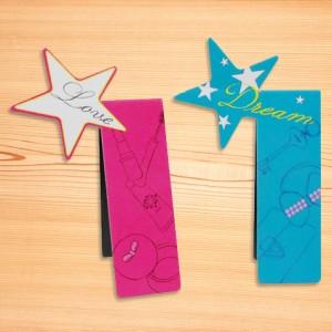 MG-B04 Logo Cutting Magnetic Bookmark