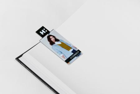 Logo Cutting Magnetic Bookmark