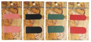 MG-B10 Textured Magnetic Bookmark