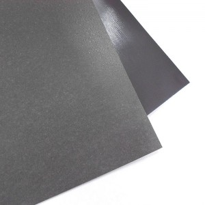 front:Ferrous Sheet,back:Plain Flexible Magnet
