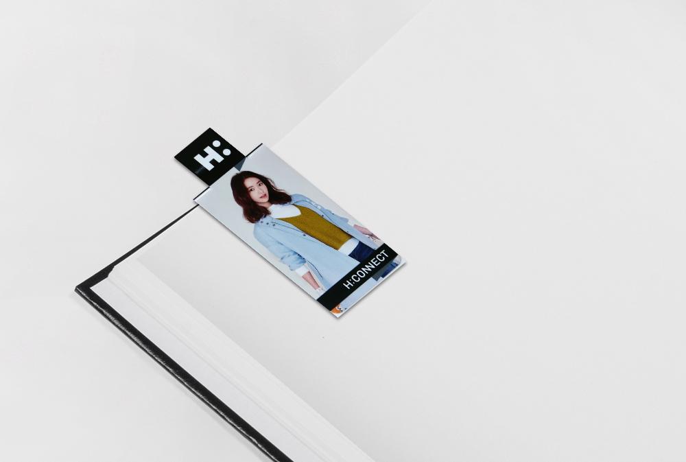 Logo Cutting Magnetic Bookmark - MG-B04