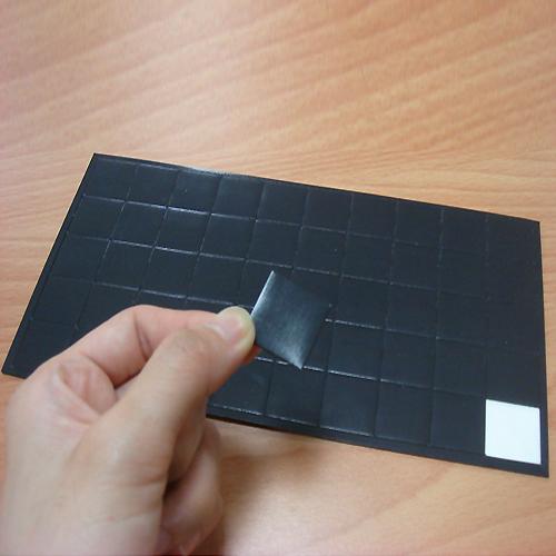Shaped Adhesive Magnet - MG-J01-1 / MG-ZK
