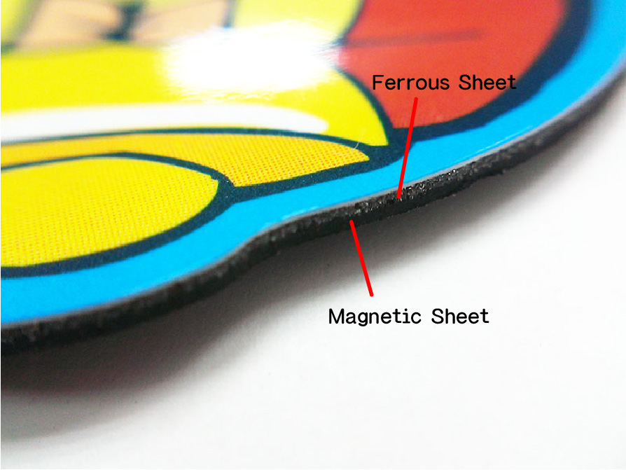 Ferrous Sheet and Magnetic Sheet
