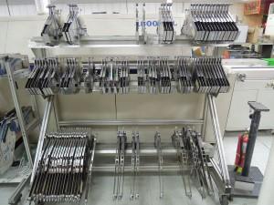 Machining - . Component rackes