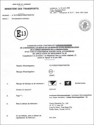 Todistus - . E -merkki (307)