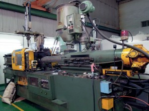 Machining - . Injection machine