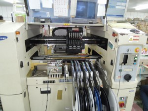 Machining - . IC mounting machine