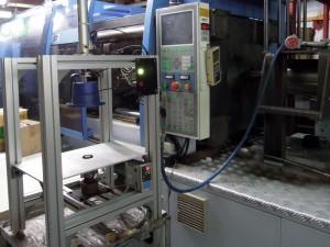 Machining - . Injection cutting machine