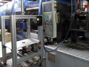 Machining - . Injection cutting machine