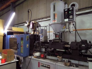Machining - . Injection machine