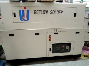 Machining - . SMD Hot Air reflow soldering Oven