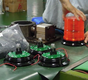 Production - . Lights Assembly