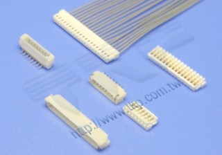 "0.80mm(.031"") 间距-08J1 刺破型线对板连接器 - 线对板"