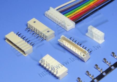 """2.00mm (.079"""") 间距-1004 线对板连接器 - 线对板"""