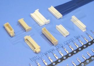 1.25mm 线对板系列连接器 - 线对板