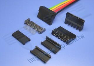 1,27 mm-127M2 Schneidklemmverbinder (IDC)-Serie - Isolationsverdrängungsverbinder (IDC)