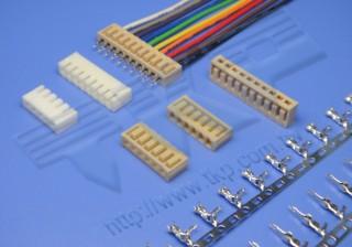 "2.50mm (.098"") 间距-130 扣板式连接器 - 扣板式"