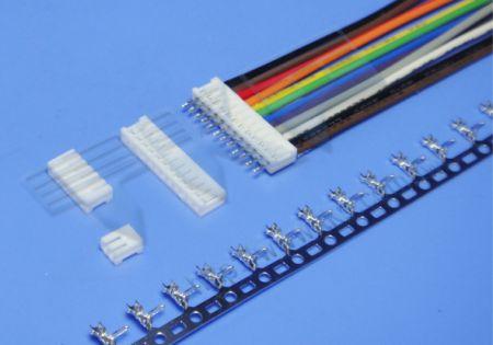 1,50 mm-15J2-Platine im Crimp-Steckverbinder - Board-In-Crimp