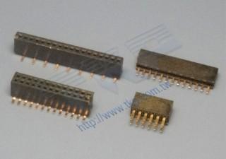 "1.27mm (.050"") 间距-2011 / 2012 单排/双排板对板连接器 - 板对板"