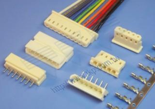 """2.50mm (.098"""") 间距-2563 2564 线对板连接器 - 线对板"""