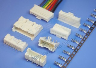 """2.50mm (.098"""") 间距-25J2 线对板连接器 - 线对板"""